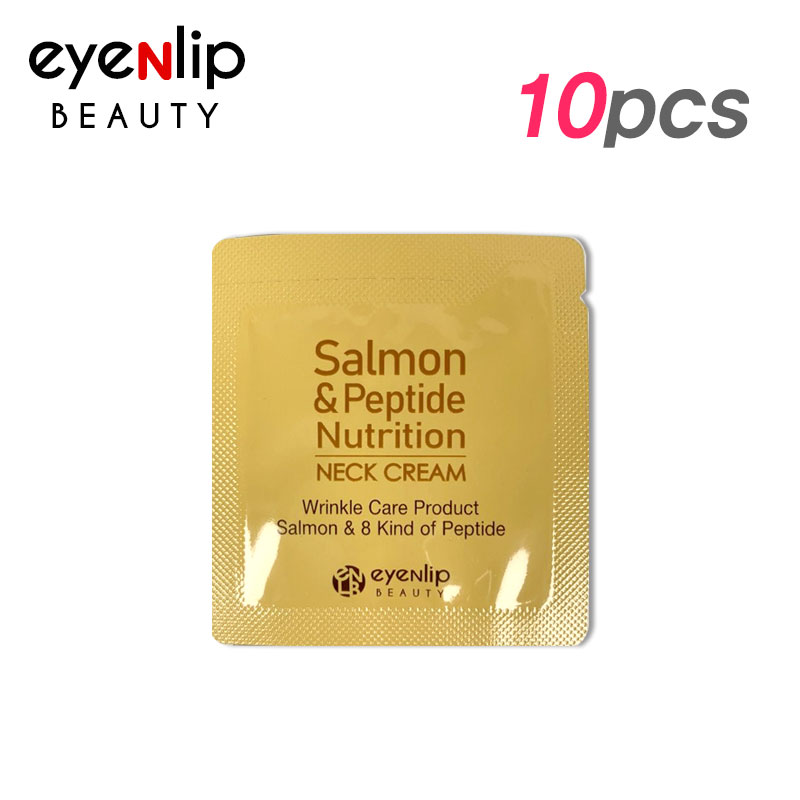 연어&펩타이드 뉴트리션 넥 크림 10pcs [Sample]salmon & peptide nutrition neck cream 1.5ml * 10pcs [Sample]
